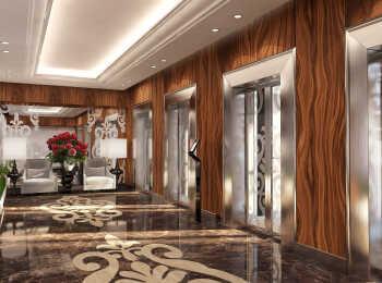 Лифтовые холлы